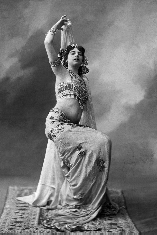 Mata-Hari en la época en que bailaba en el Kursaal