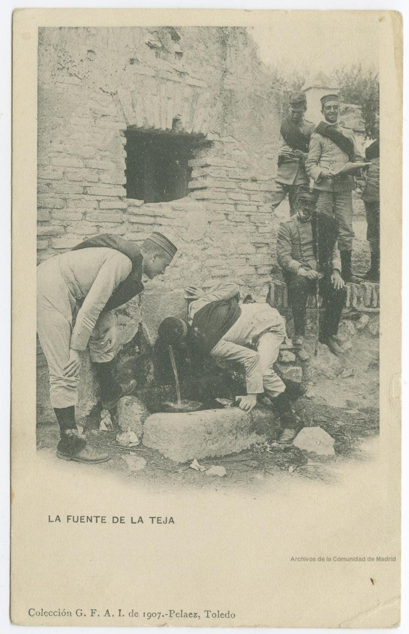Fuente de la Teja a comienzos de siglo