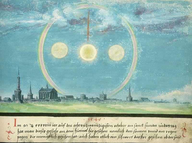 Augsburger_Wunderzeichenbuch_—_Folio_164-_Nebensonnen_und_Schwert_28._Oktober_1549.jpg