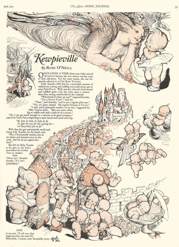 Las Kewpie y O'Neill (1925)