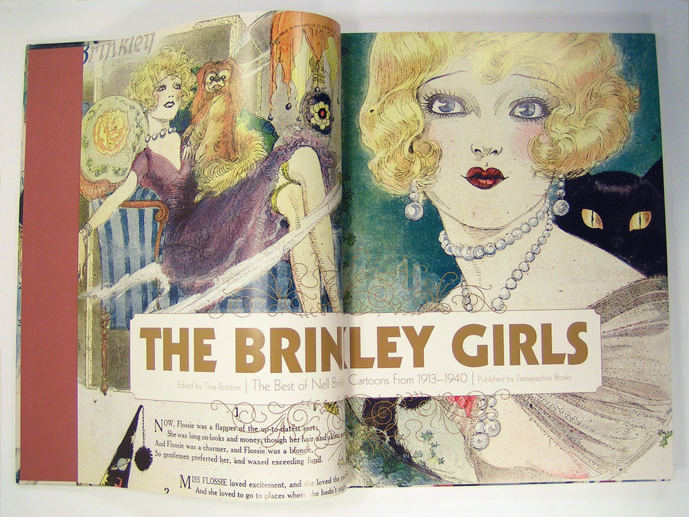 The Brinkley Girls,  The Best of Nell Brinkley's Cartoons from 1913-1940