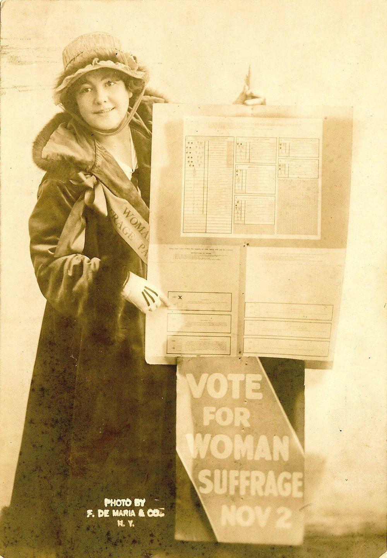 La dibujante y sufragista Rose O'Neill