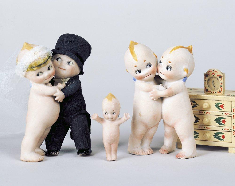 Las muñecas Kewpie de O'Neill