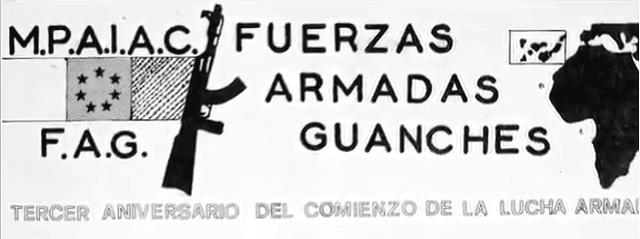 Logo del MPAIAC y las FAG