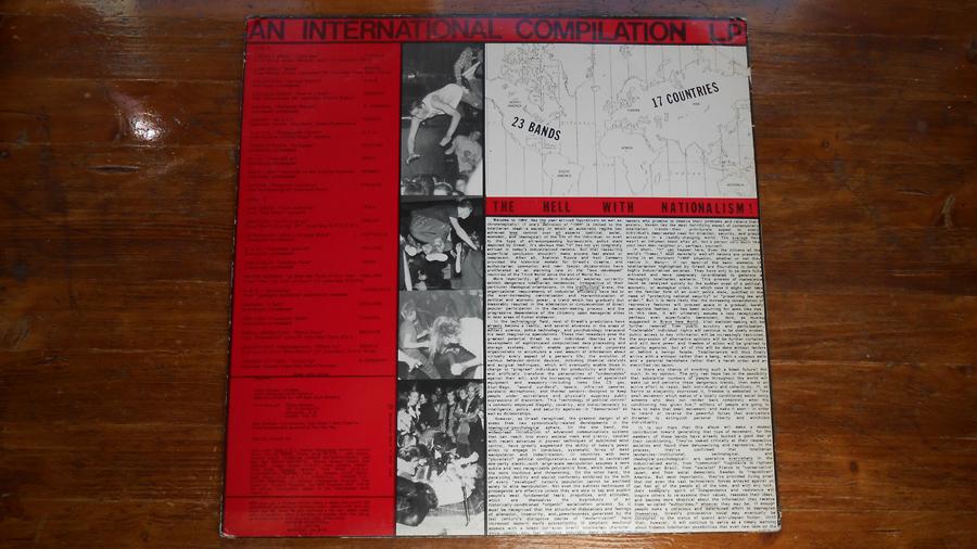 Portada y contraportada de  Welcome to 1984  ( Maximum Rocknroll , 1984)