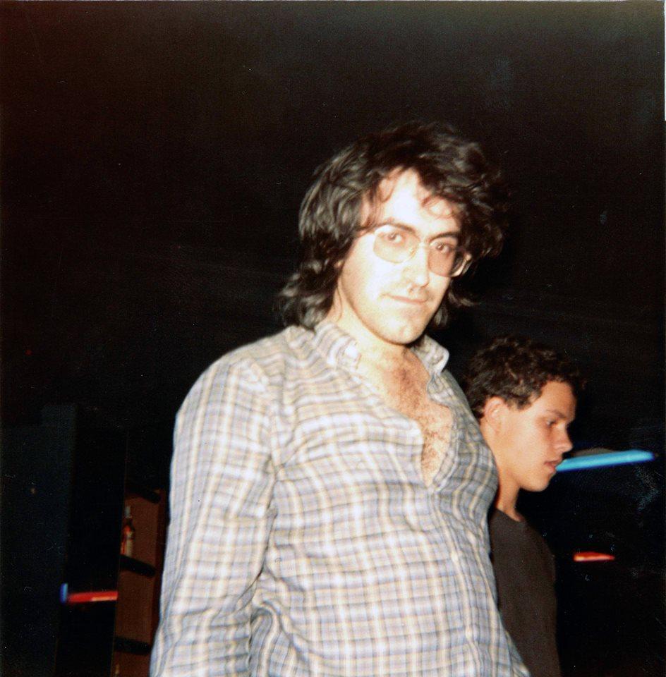 Alberto y, detrás de él, un jovencísimo Gaboni