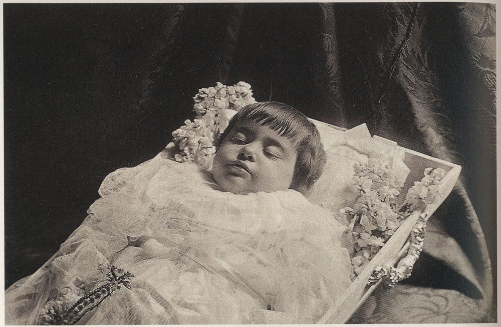 Antonio García. Retrato de niño muerto, 1910