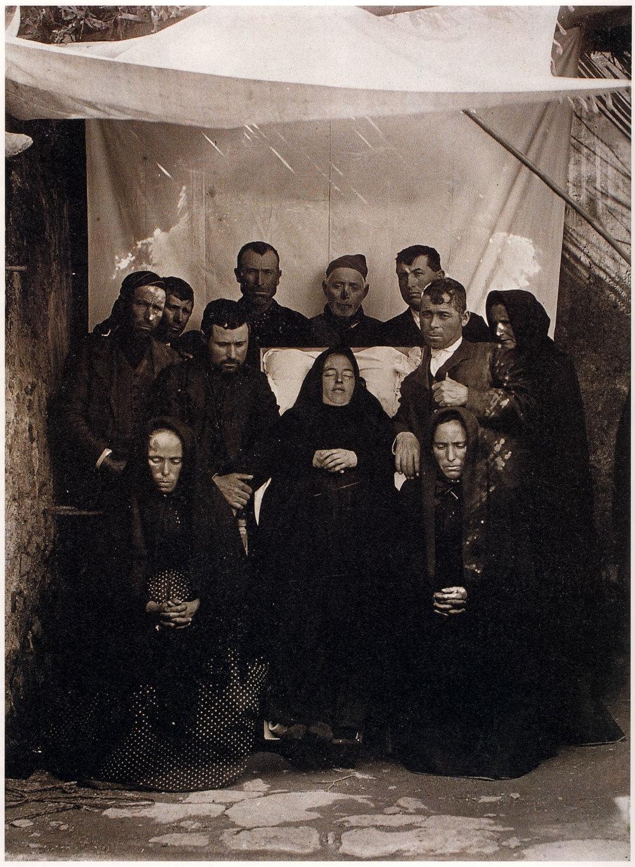 Fernando Navarro, Duelo en Totana (Murcia).Hacia 1905