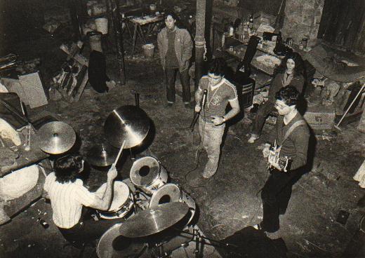 Primer ensayo de Decibelios en el local de la calle de San Pablo (febrero de 1980)