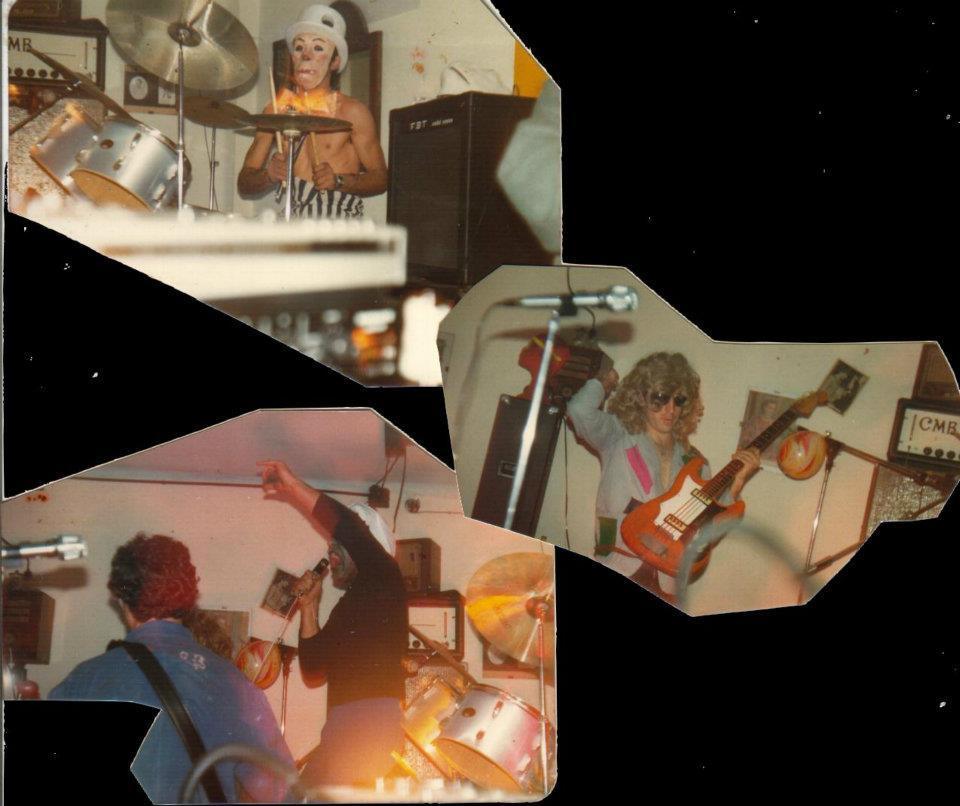 La banda en sus inicios. Concierto en el pub Negrito del Prat de Llobregat (13 de abril de 1980)