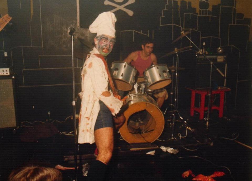 Actuación en la sala Década (10 de enero de 1981)