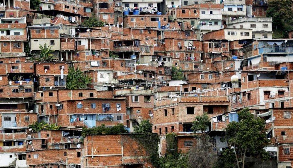 Vista panorámica del barrio de Petare. (EFE)