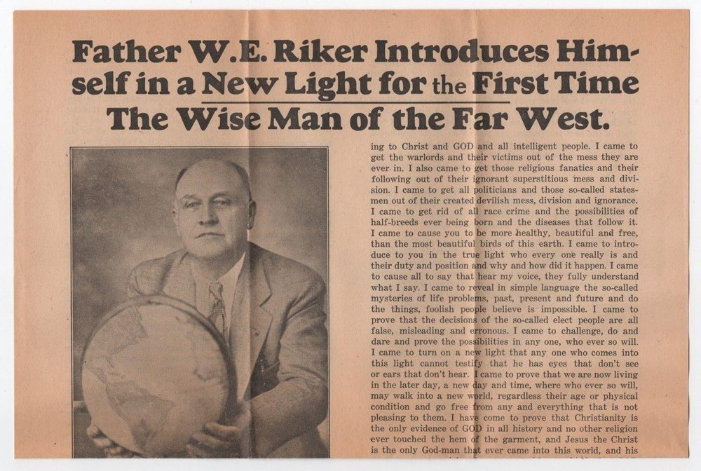 William E. Riker