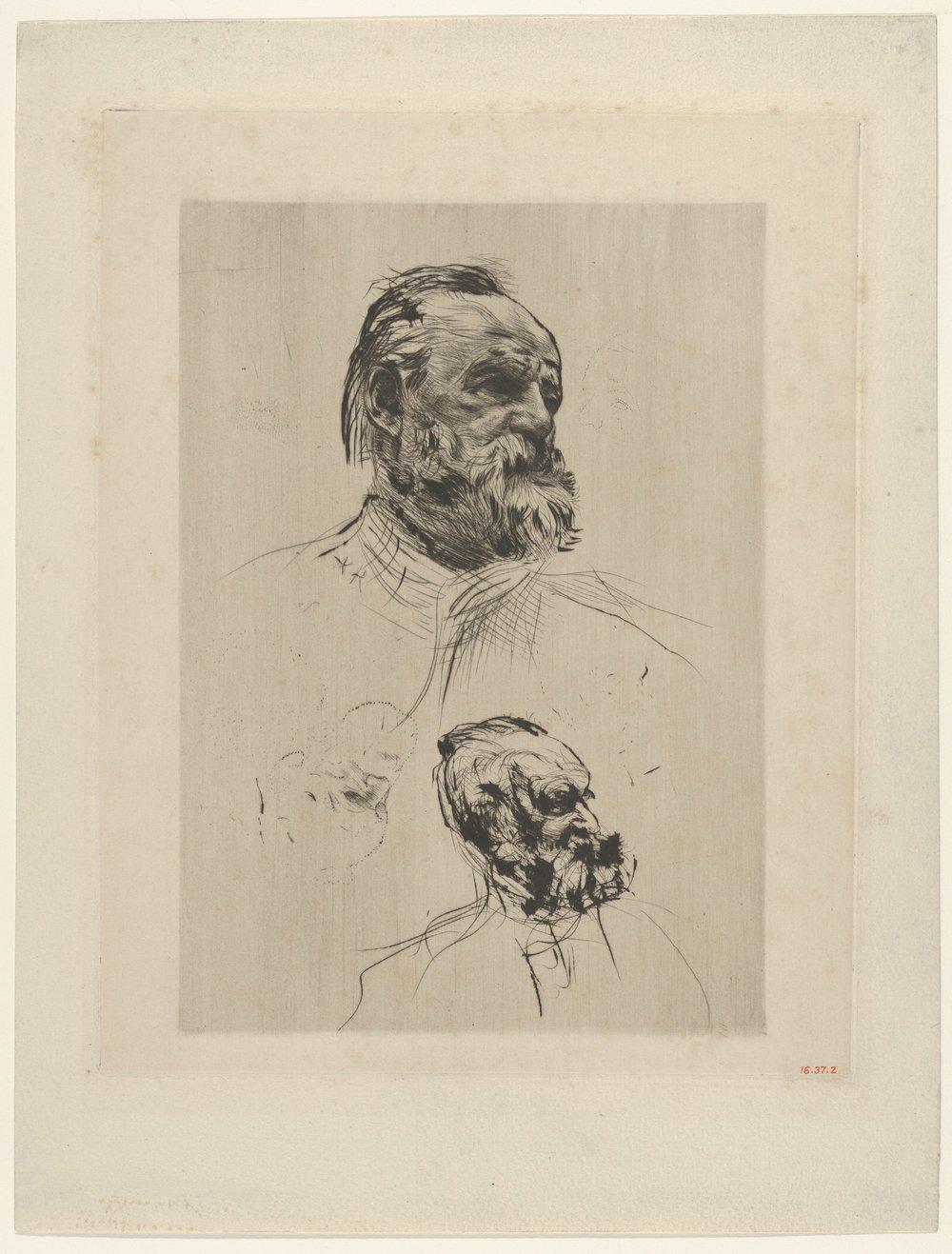 Victor Hugo retratado por Auguste Rodin