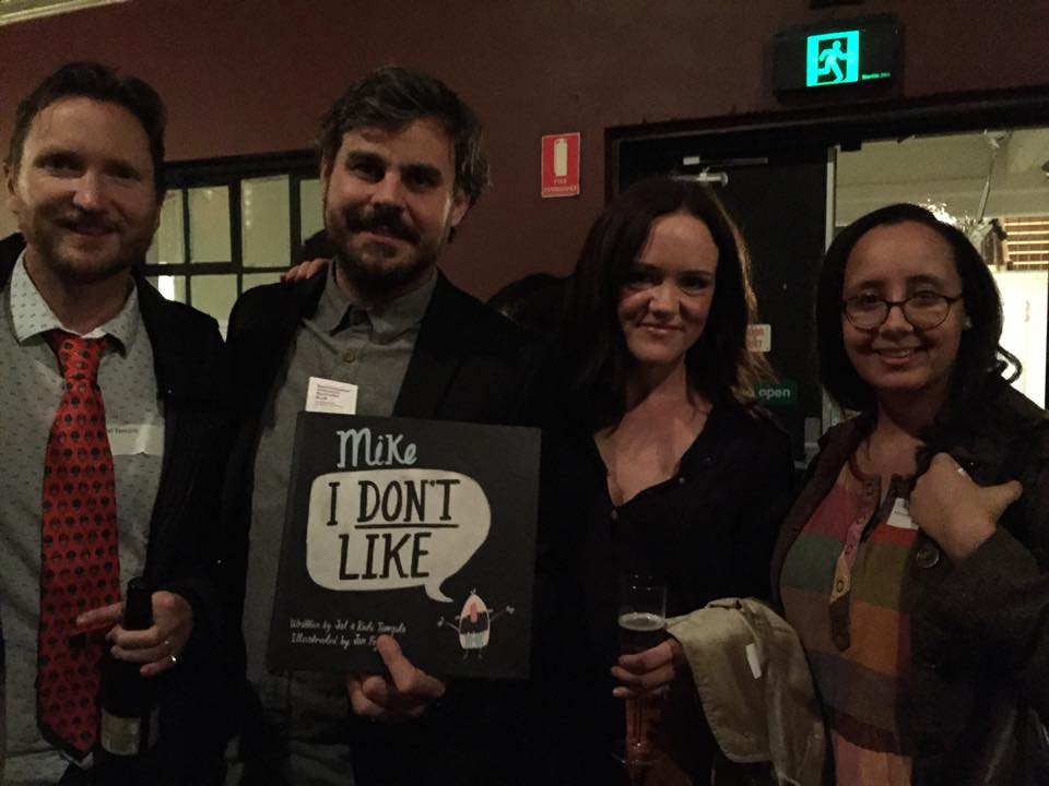 Jol, Jon, Kate & Chren (Harper Collins) at the Australian Book Design Awards 2015.