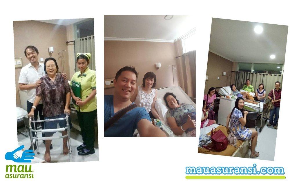 Foto bersama dokter NArio, pemilik igors, dan keluarga besar di surabaya