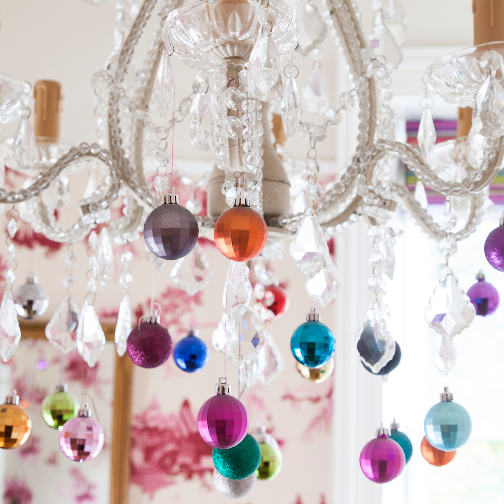 It really is Christmas every day in The Pink House dining room/Photo: Susie Lowe
