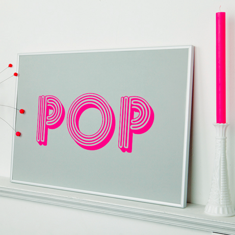 4) Pop print by Quirk & Rescue