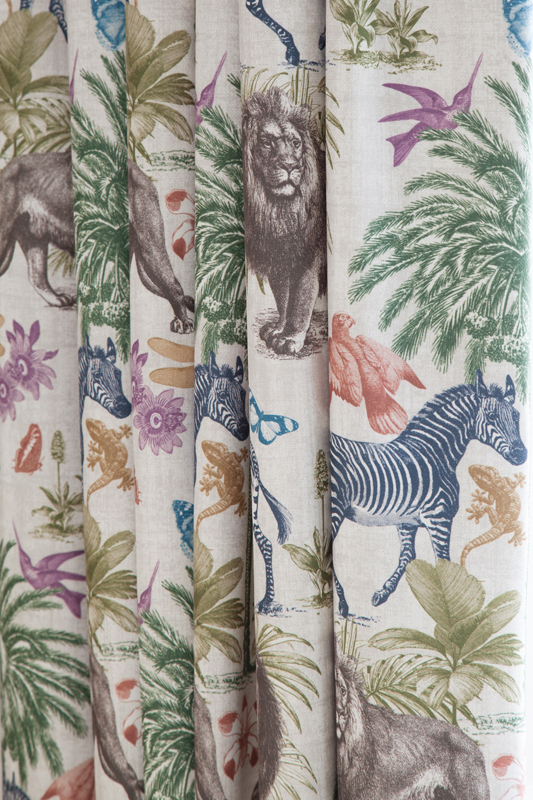 Animal curtains