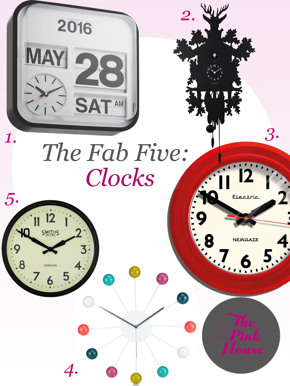 Cool clocks for sale