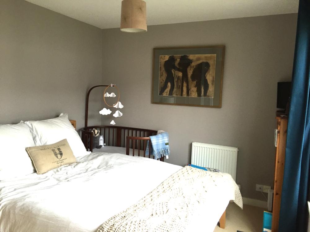 Laura's new-build bedroom needs a bit of TLC