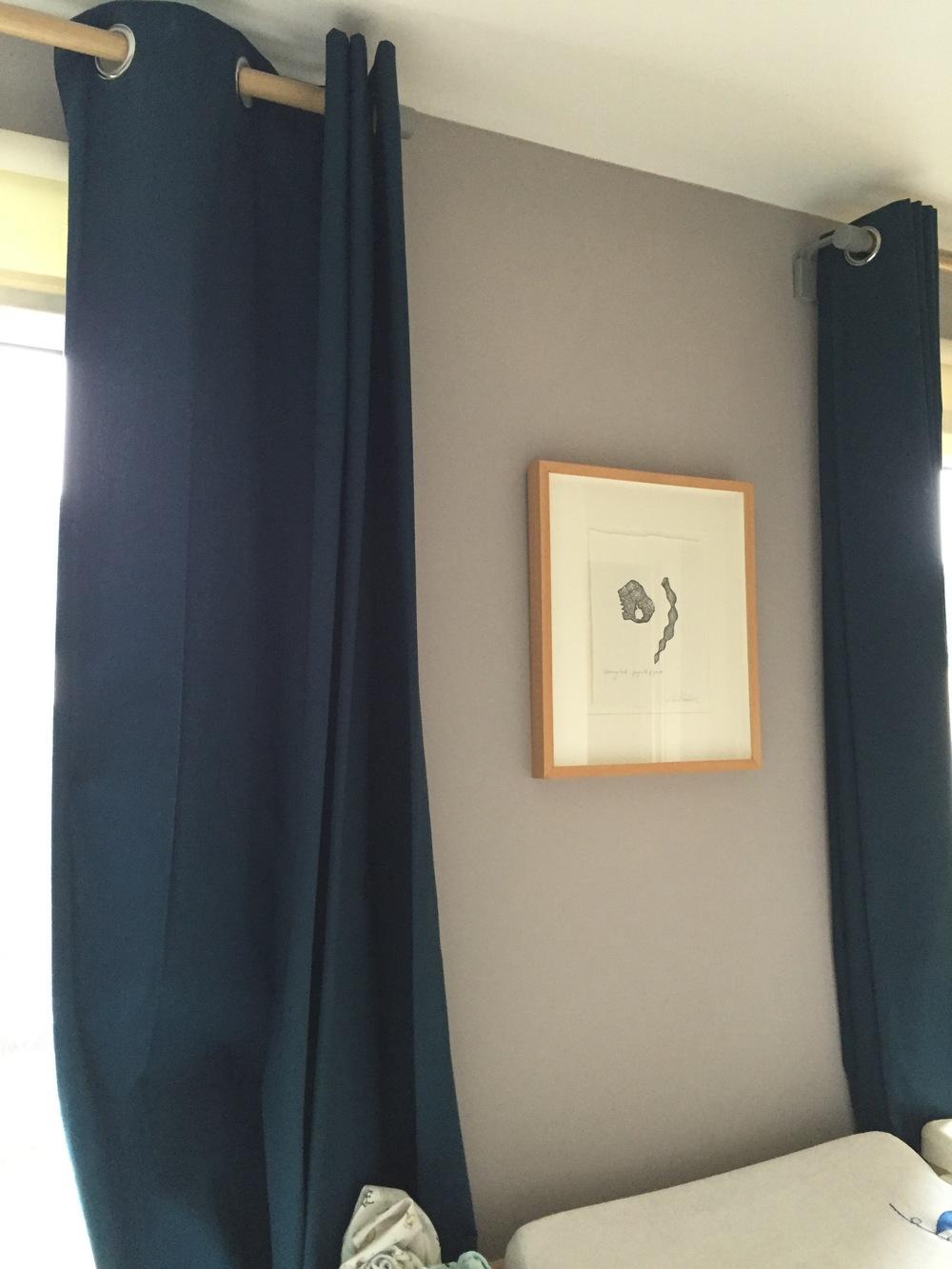 The original curtains