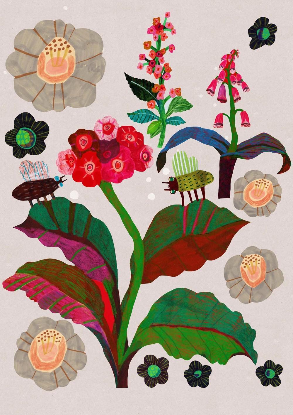 Monika Forsberg's funky Kew print