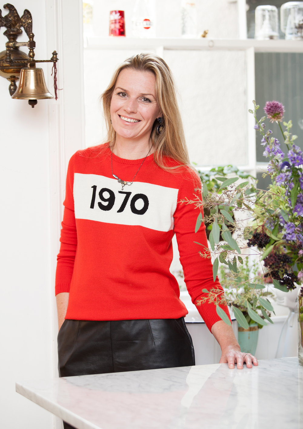 Grainne Morton: making homes gorgeous since 1970/Photo: Susie Lowe