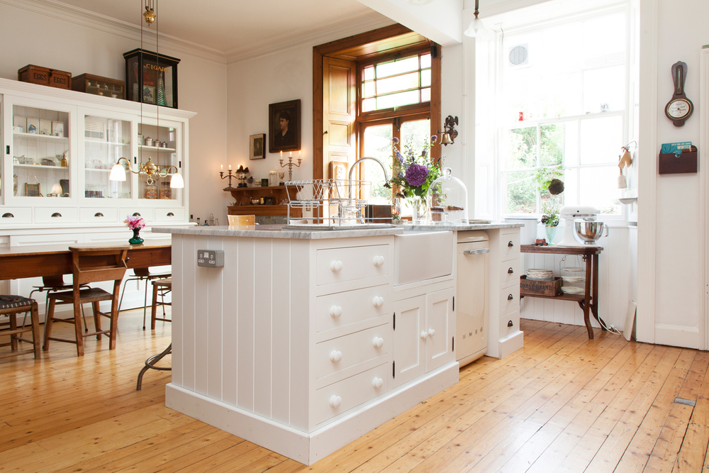 Grainne knocked through between the kitchen and dining room to create this welcoming space/Photo: Susie Lowe