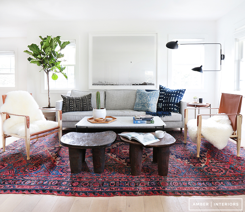 A mix of vintage and modern adds character/Photo: Tessa Neustadt; Design: Amber Interiors