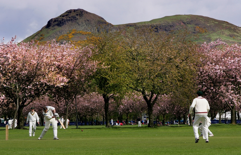 The Meadows, with Arthur's Seat in the background/Photo: This is Edinburgh