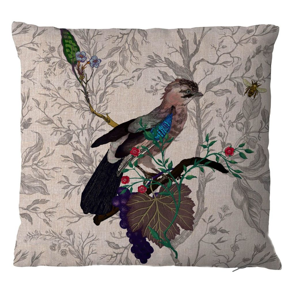 Timorous Beasties Jay cushion