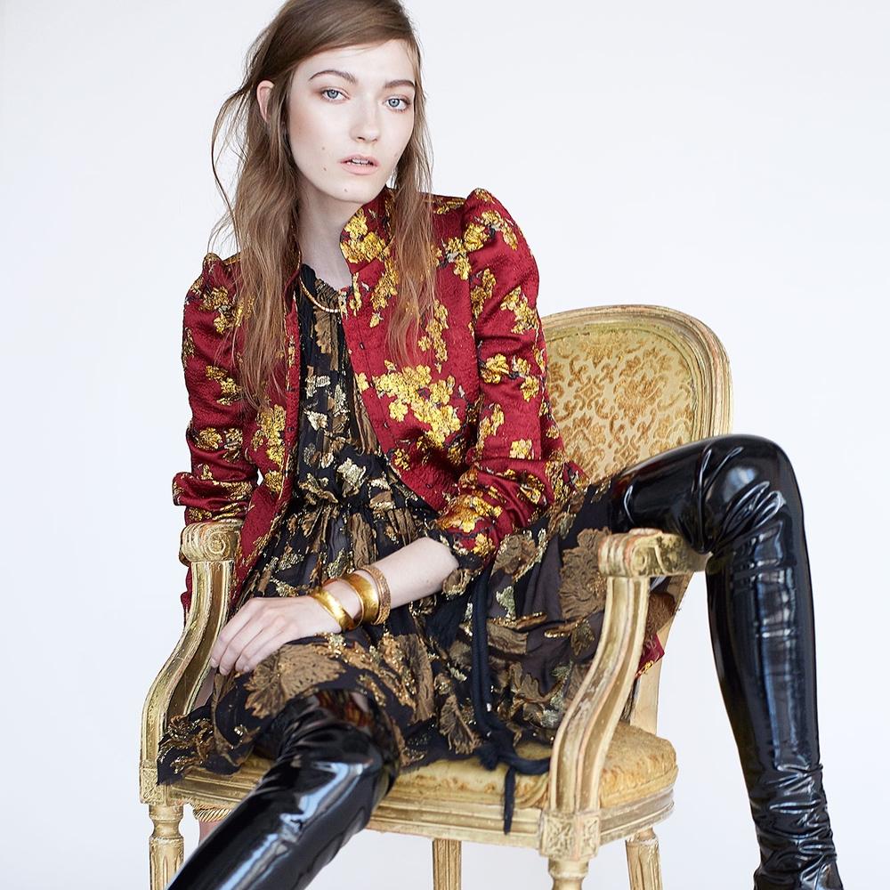 Fashion AND furniture/Photo: W Magazine
