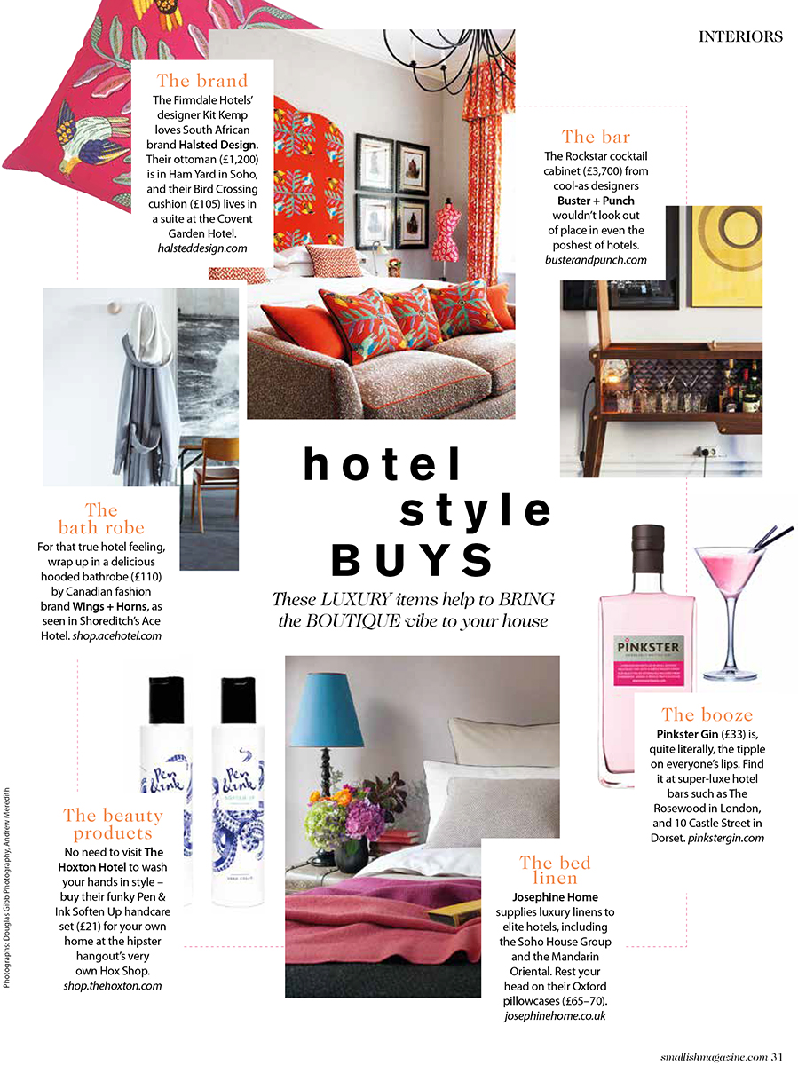 Smallish magazine - The Pink House