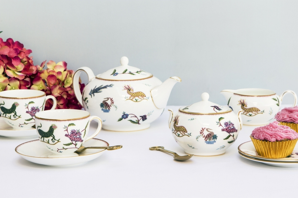 Kit Kemp for Wedgwood 'Mythical Creatures' tea set