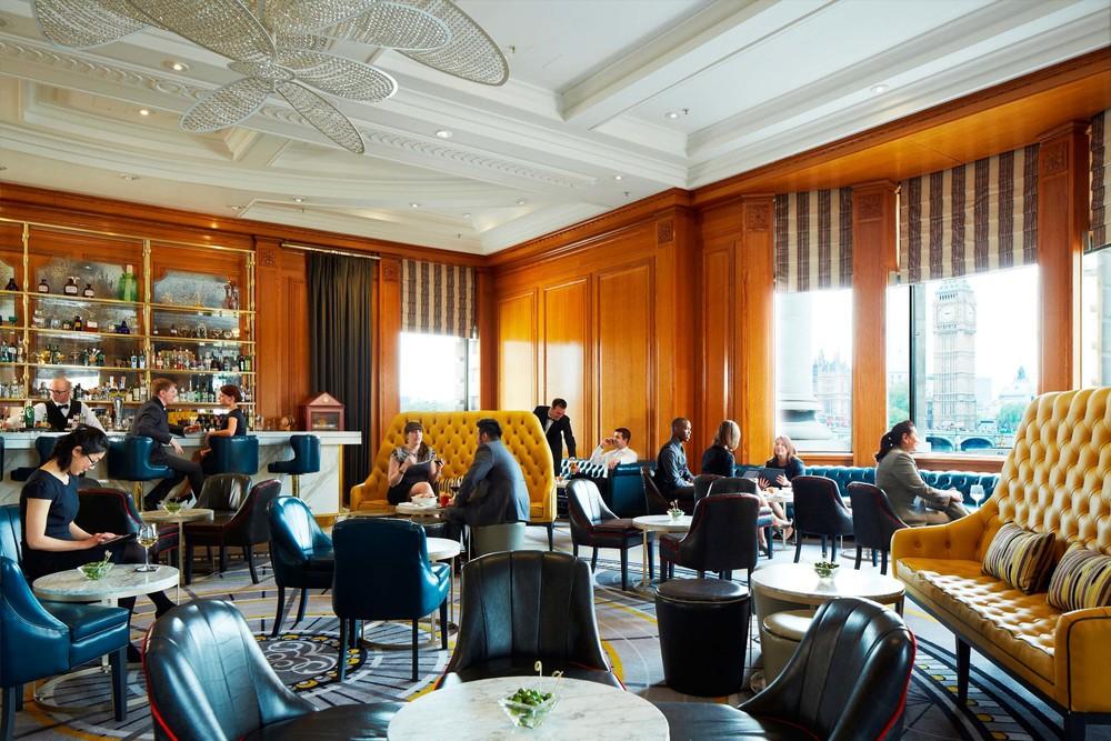 Gillray's bar at London Marriott County Hall hotel