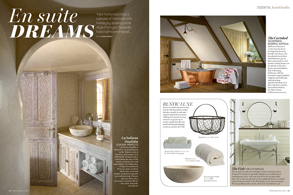En Suite Dreams by Emily Murray in EKBB magazine