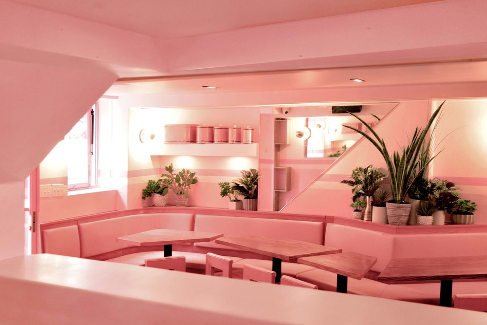 The Pink House's new HQ - we WISH!/Photo: Architectural Digest