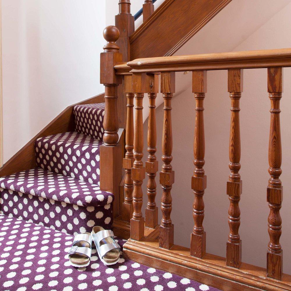 Alternative Flooring Quirky B polka dot carpet
