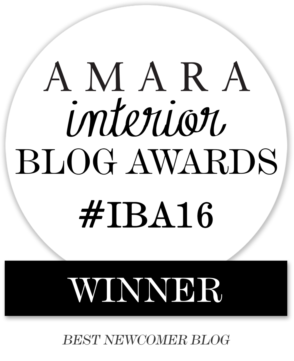 Amara Interior Blog Awards IBA16 2016 Best Newcomer winner The Pink House