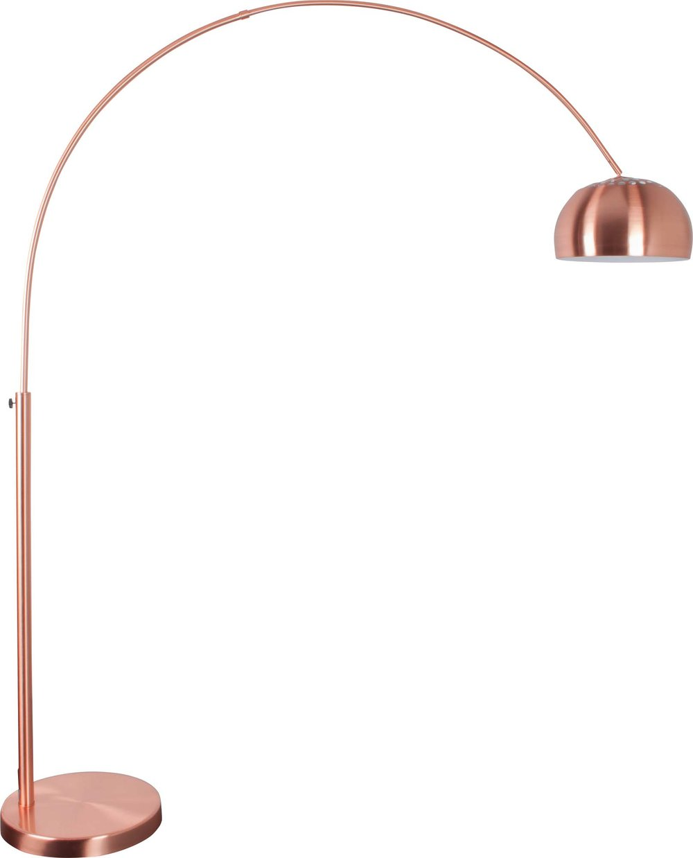 Metal bow copper lamp from 4living.co.uk
