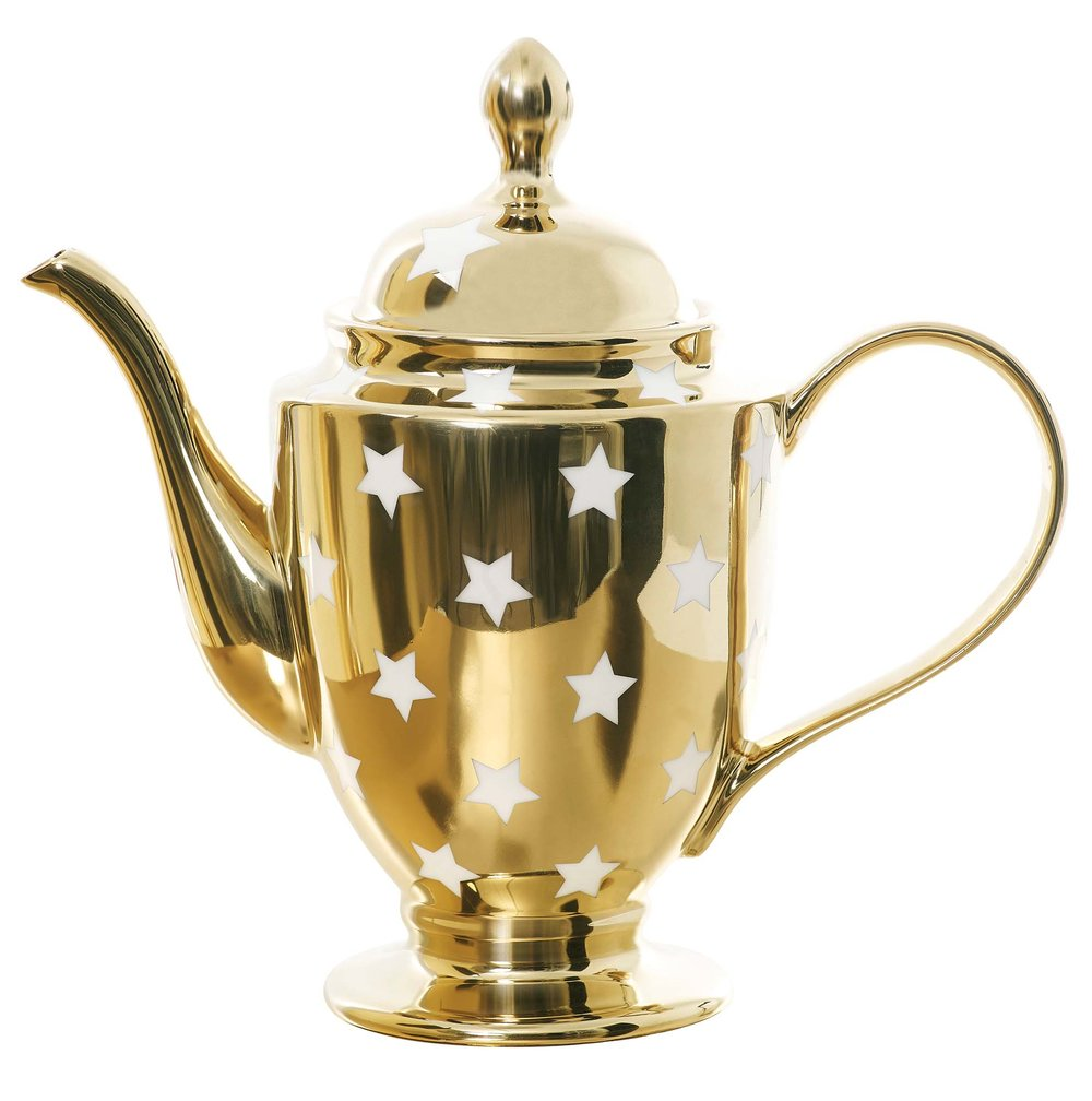 Rockett St George's Gold Star teapot