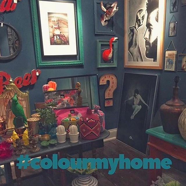 @hilaryandflo's colourful shop: a worthy winner of the #colourmyhome hash tag competition
