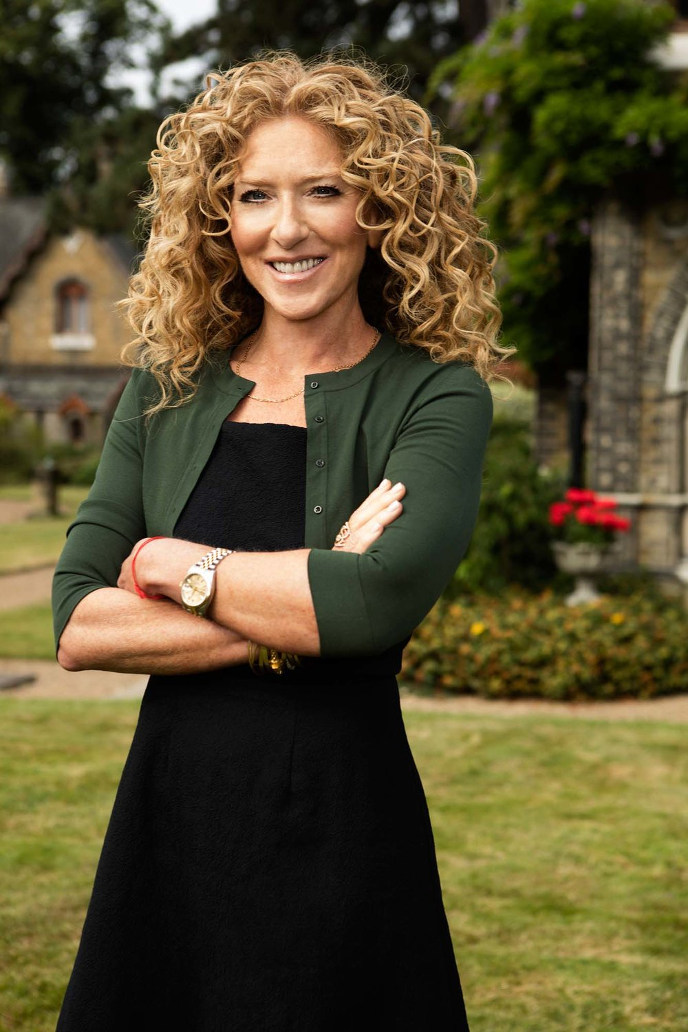 Kelly Hoppen judge on The Great Interior Design Challenge BBC2