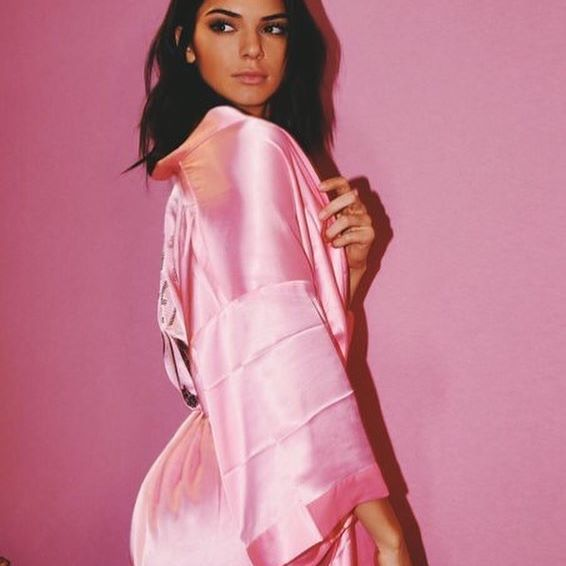 Kendall Jenner in an appetite-suppressing dressing gown/Photo: Instagram: @kendalljenner