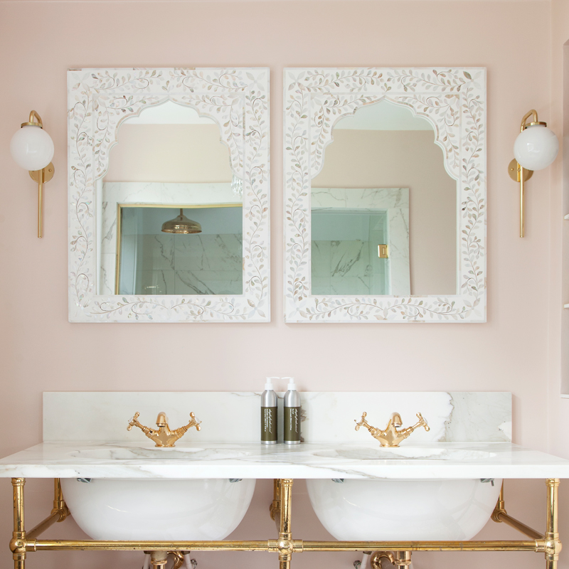 Bathroom from  The Ultimate Country House  tour/Photo: Susie Lowe