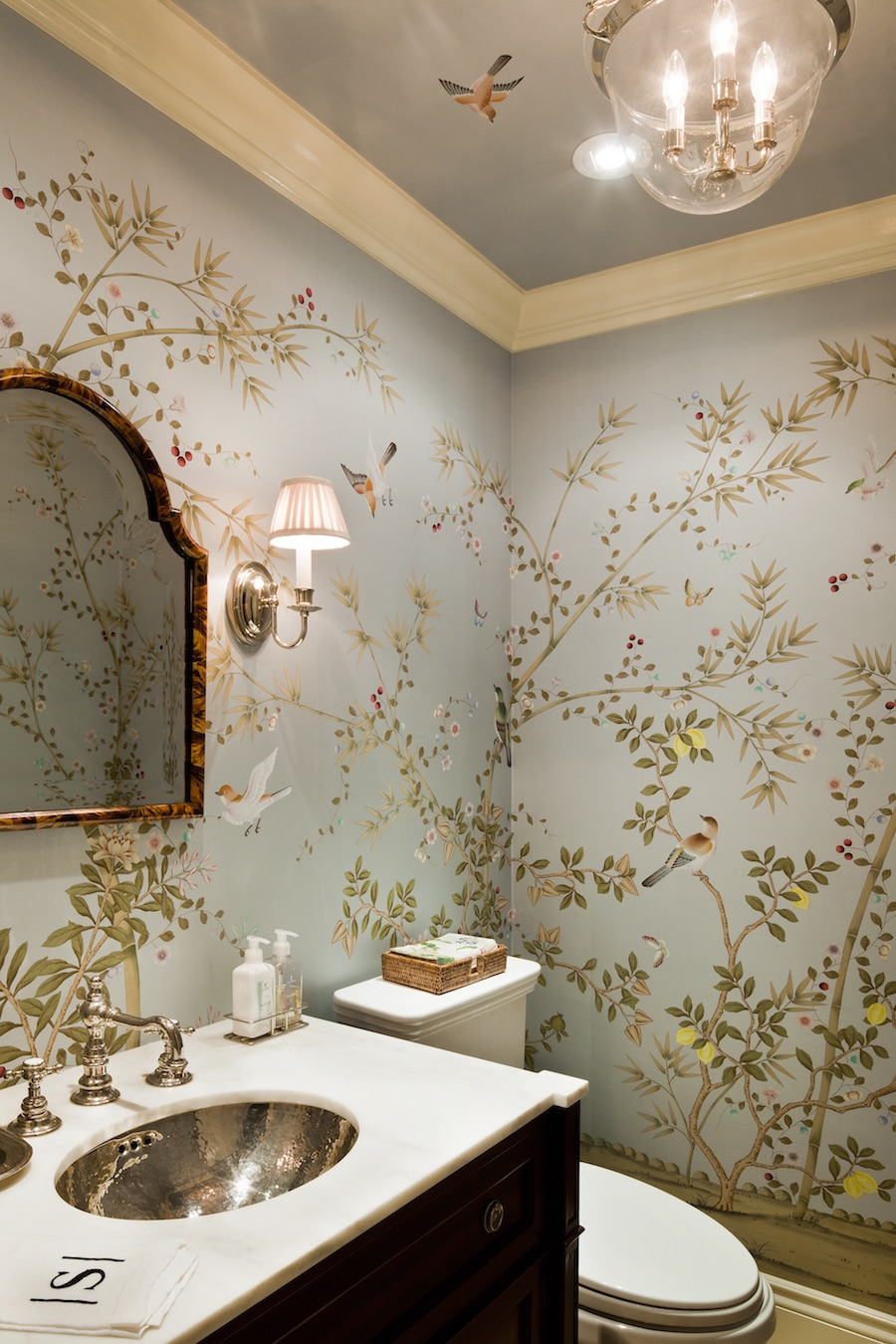 Heavenly Fromental wallpaper, but here on earth, so there's still time...