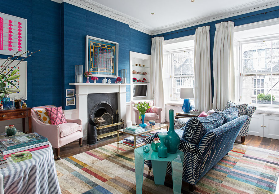Jessica Buckley's gorgeous home in Edinburgh