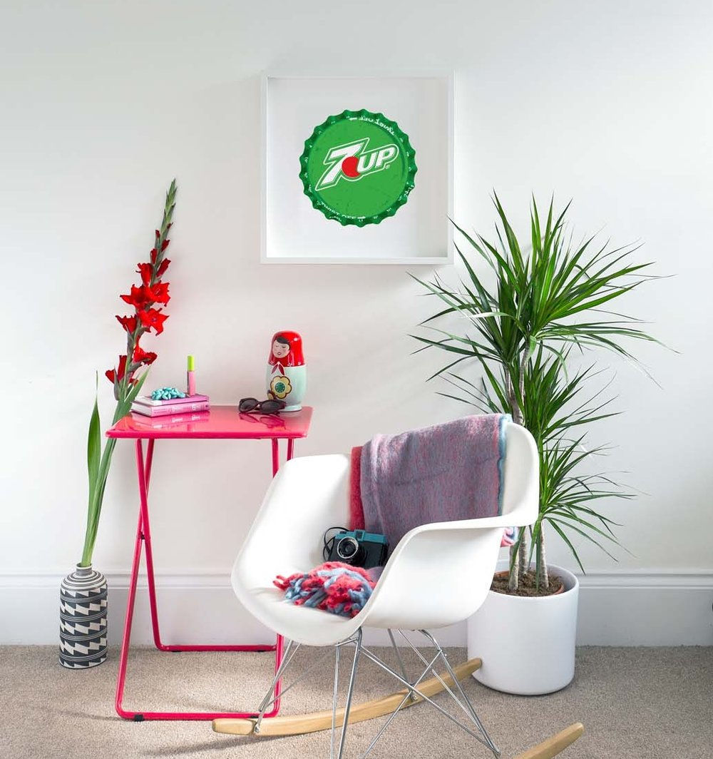 Tom's pic of the 7up print, his favourite