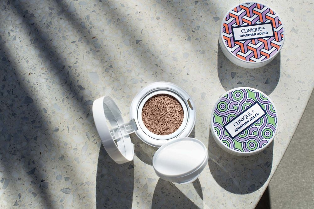CLinique X Jonathan Adler Lid Pop make-up